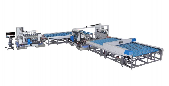 LST-SZM Automatic Supper Speed Double Edger Line